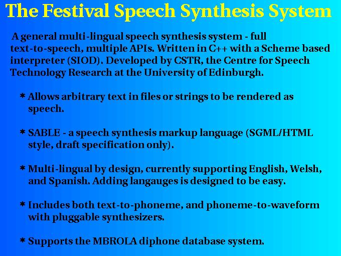 festival speech in english